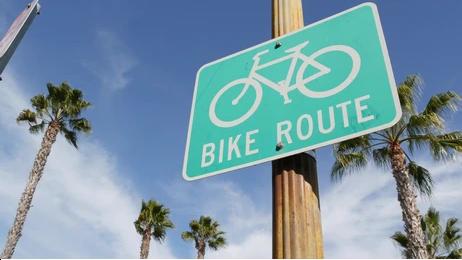 カリフォルニア 自転車道